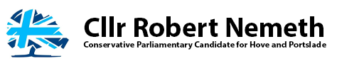 Cllr Robert Nemeth – Conservative Parliamentary Candidate for Hove and Portslade